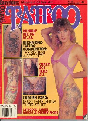 Tattoo Magazine - Summer 1990 - Dragon Moon Tattoo Client Highlight