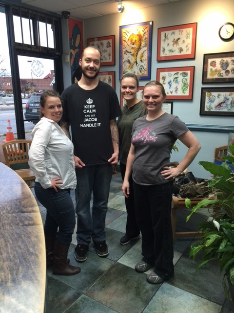 da9d10ce429e5 Three sisters walk into a bar … no, that's not it! Three sisters walk into  a tattoo studio and had one of the most memorable evenings!